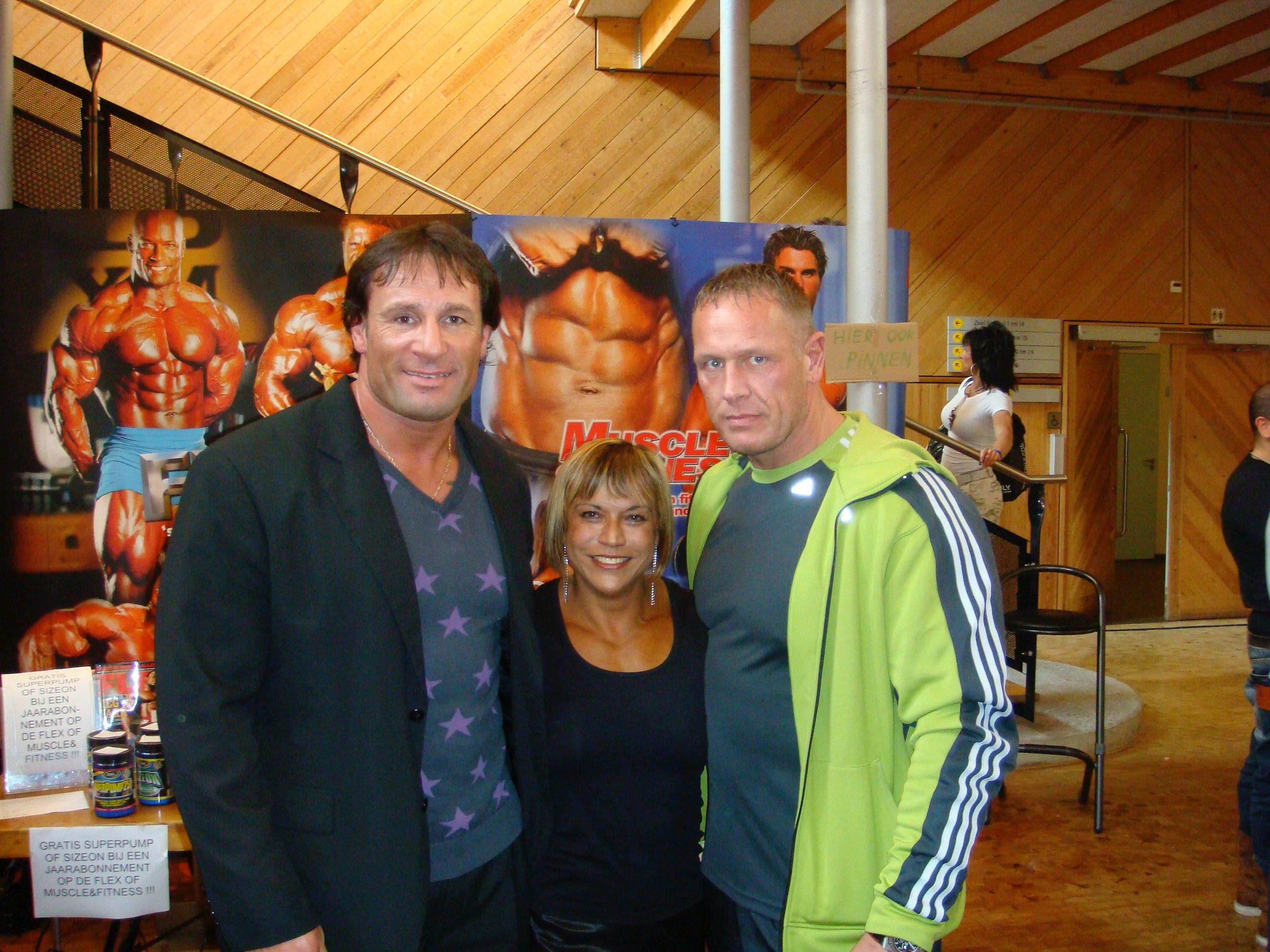 Met Dick Vrij en Juliette