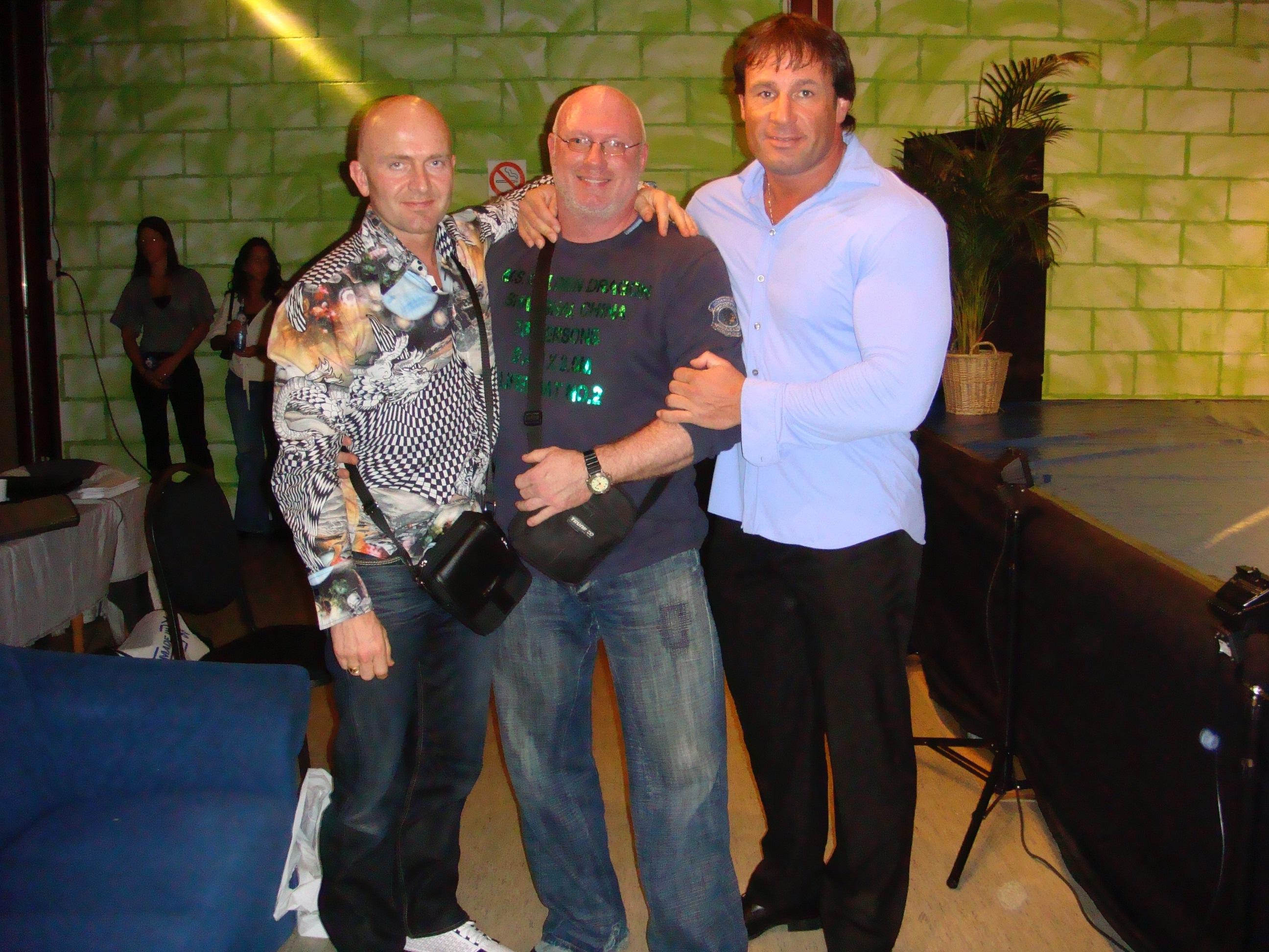 Met Gijs en Rinus