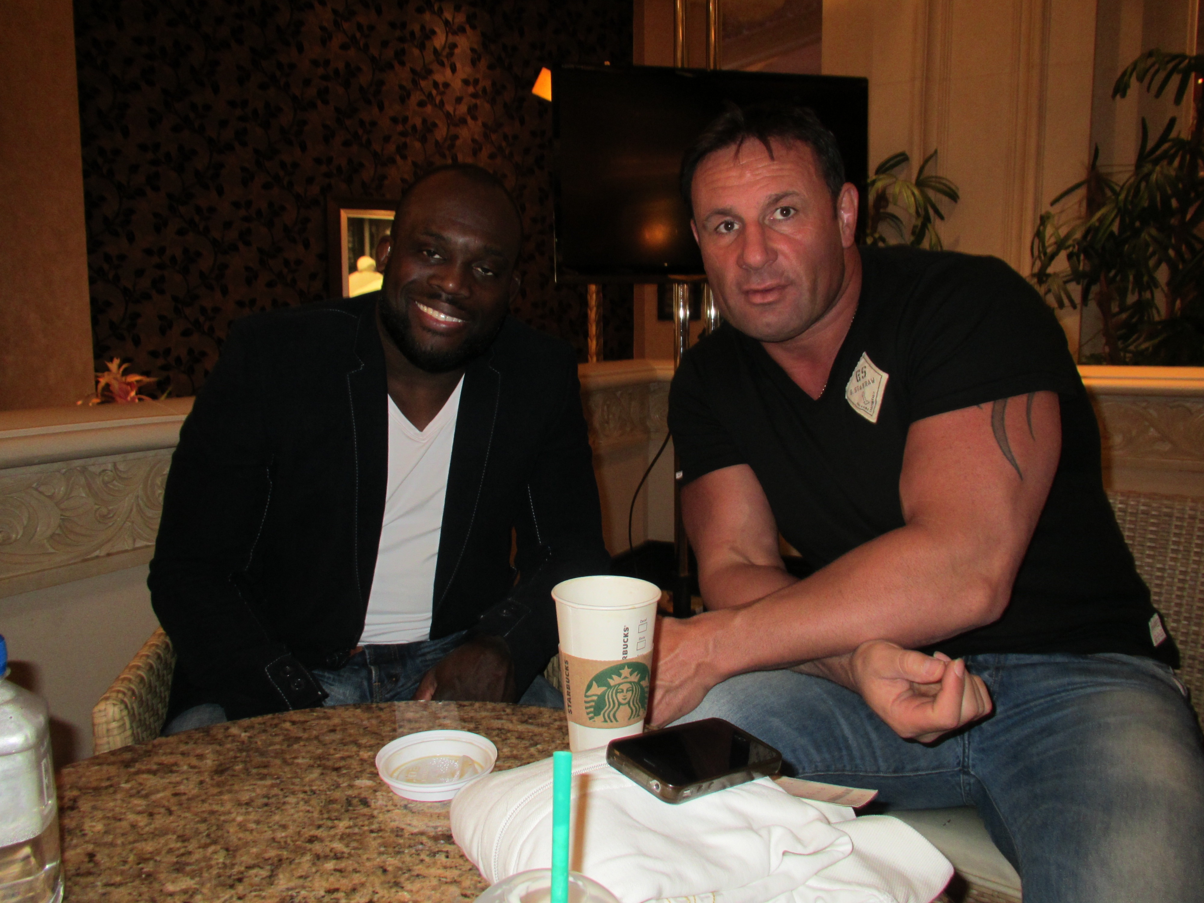 Met Manhoef in Vegas