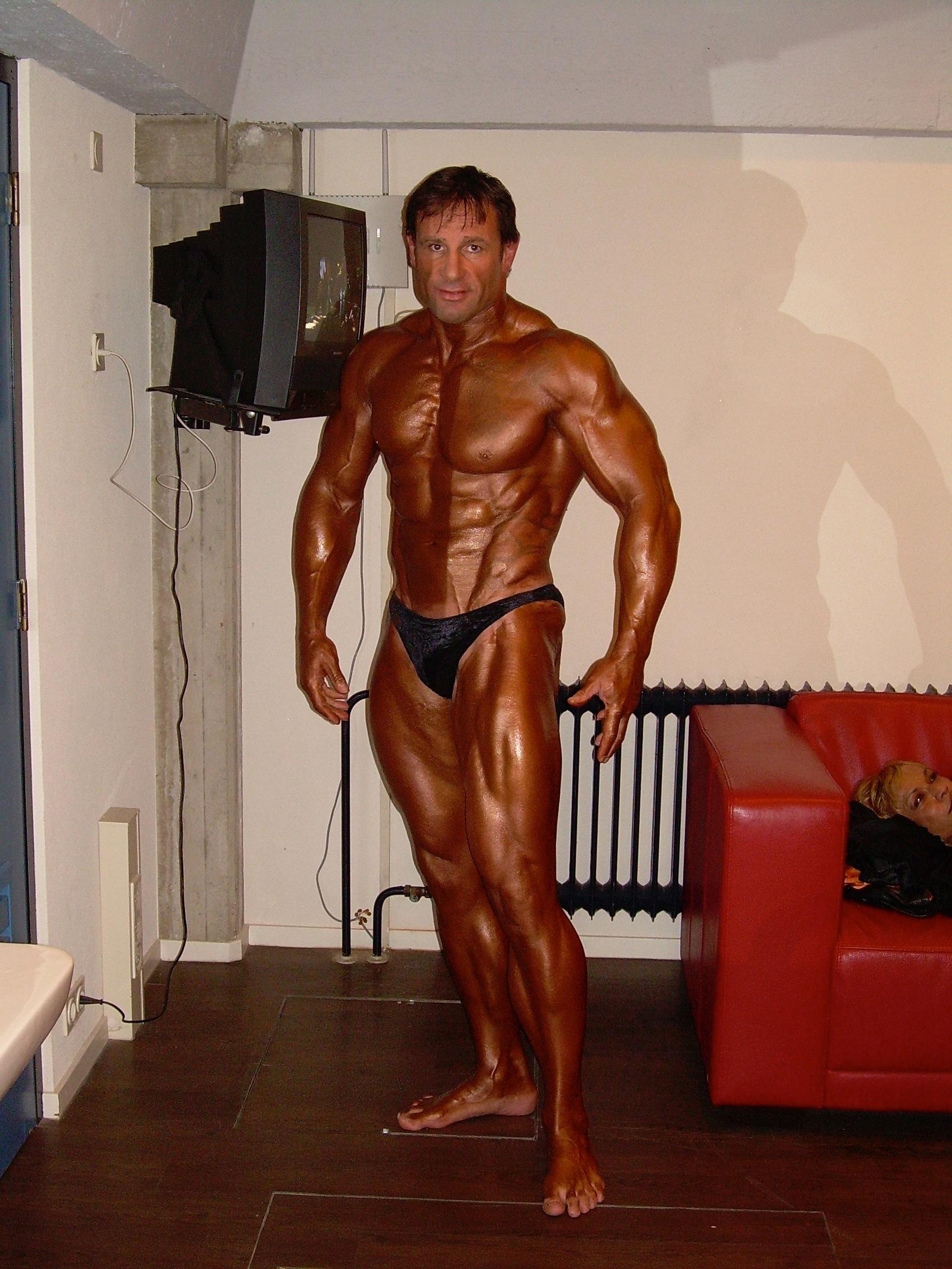 Uitstapje naar bodybuilding..