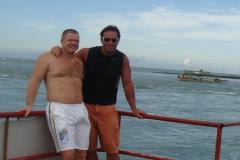 Met Hans ao Brasil